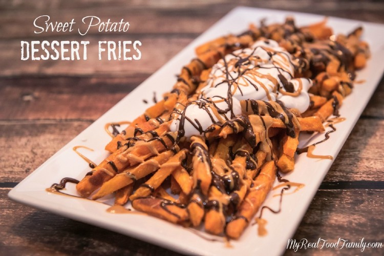 Sweet potato dessert fries my real food family there has been a debate going on in my kitchen for a while now you see i love sweet potatoes and would eat them with almost any meal mr real foodt forumfinder Choice Image
